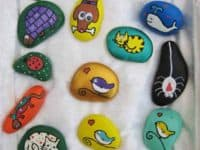15 Easy Rock Painting Ideas That Are Beautiful