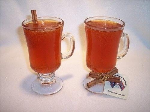 Cinnamon apple cider gel candle