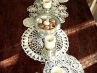 Classic Lace doily table runner 200x150 Delicate Beauty: Decor Ideas Involving Lace