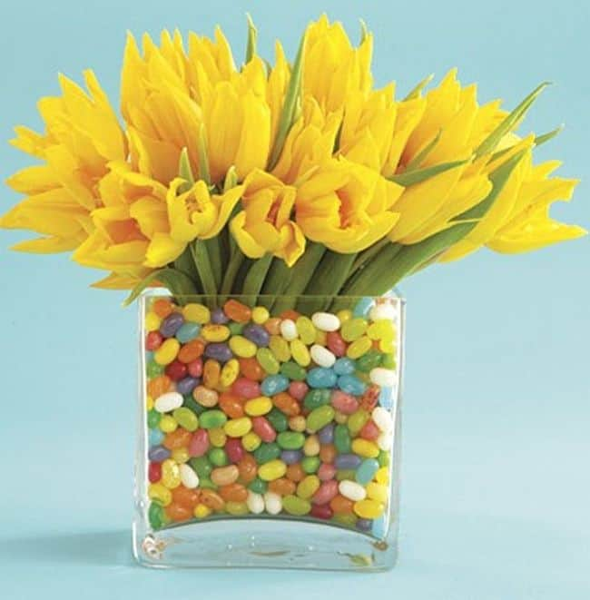 Colorful Candy arrangement