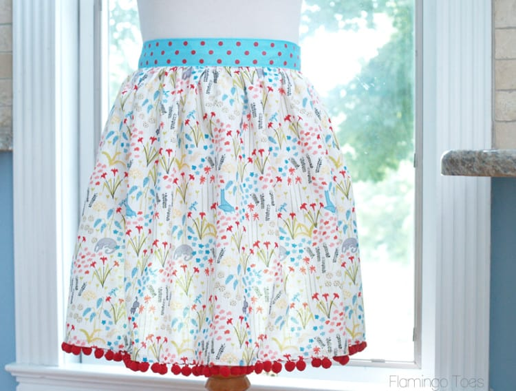 DIY 30-minute apron