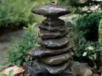 VIEW IN GALLERY DIY Stacked Rock Fountain 200x150 8 Soothing DIY Garden  Fountains