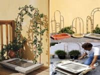 DIY Water Feature with Trellis 200x150 8 Soothing DIY Garden Fountains
