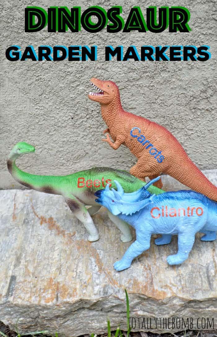 Dinosaur Garden Markers