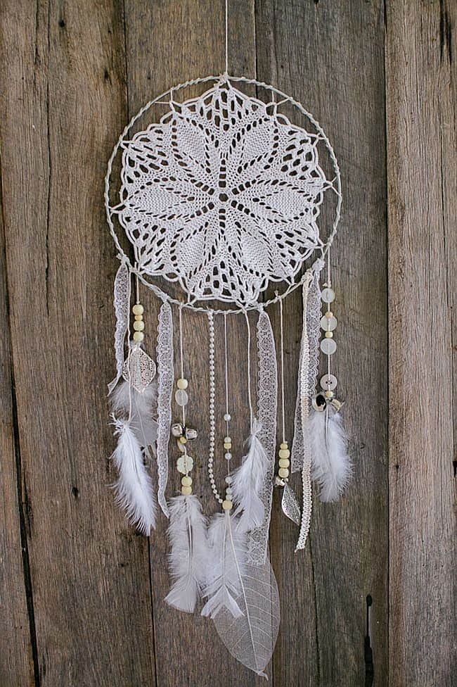 Dream A Little Dream 40 DIY Dreamcatchers Fascinating How To Make Doily Dream Catchers