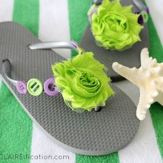 9 DIY Flip Flop Makeovers