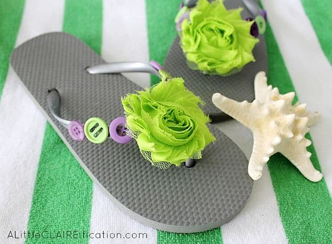 40354ce0cabdc VIEW IN GALLERY Embellished Flip Flops