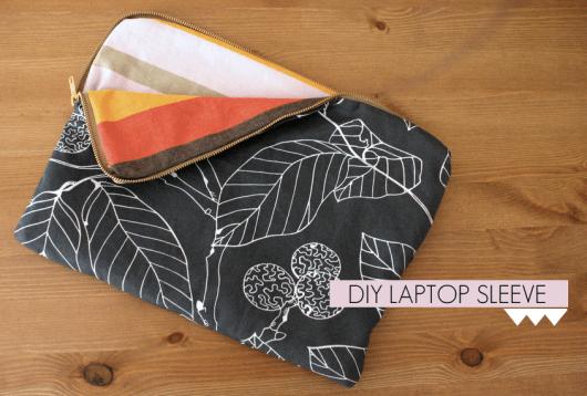 Floral zip case