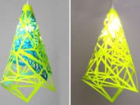 Geometric neon lamp 200x150 15 Classy Ways to Incorporate Neon into Your Home