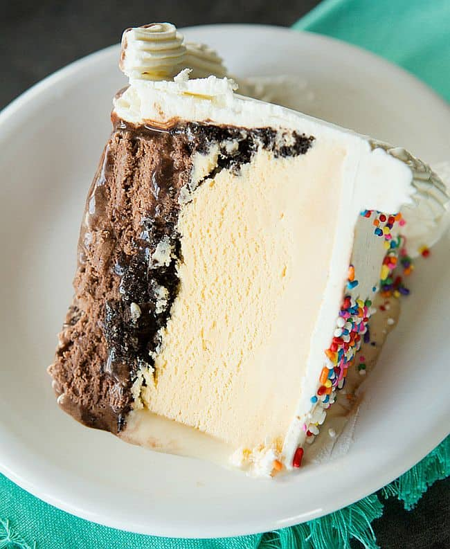 Homemade Dairy Queen Ice Cream Cake