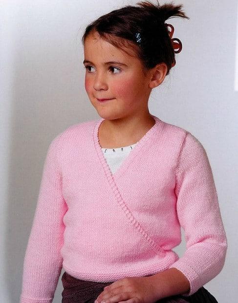 Knitted ballet bolero