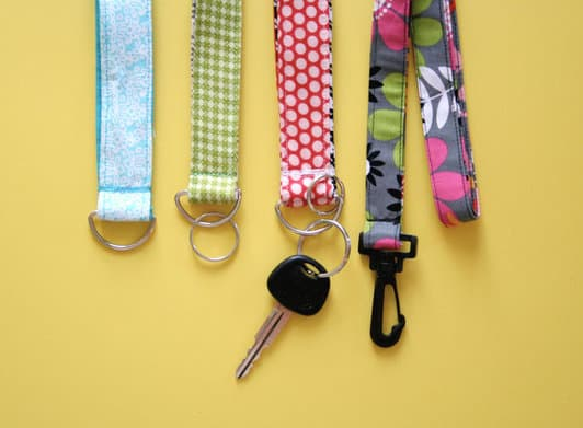 Lanyard key rack