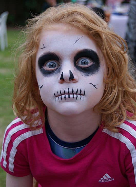 Cute face painting designs for your kids this summer 9 little skull solutioingenieria Image collections