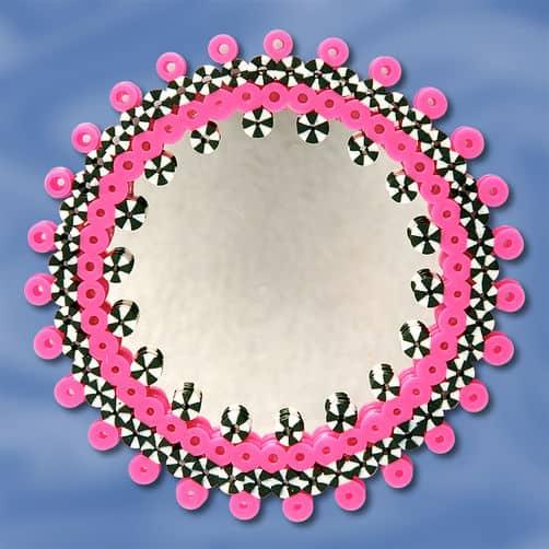Perler Bead Mirror