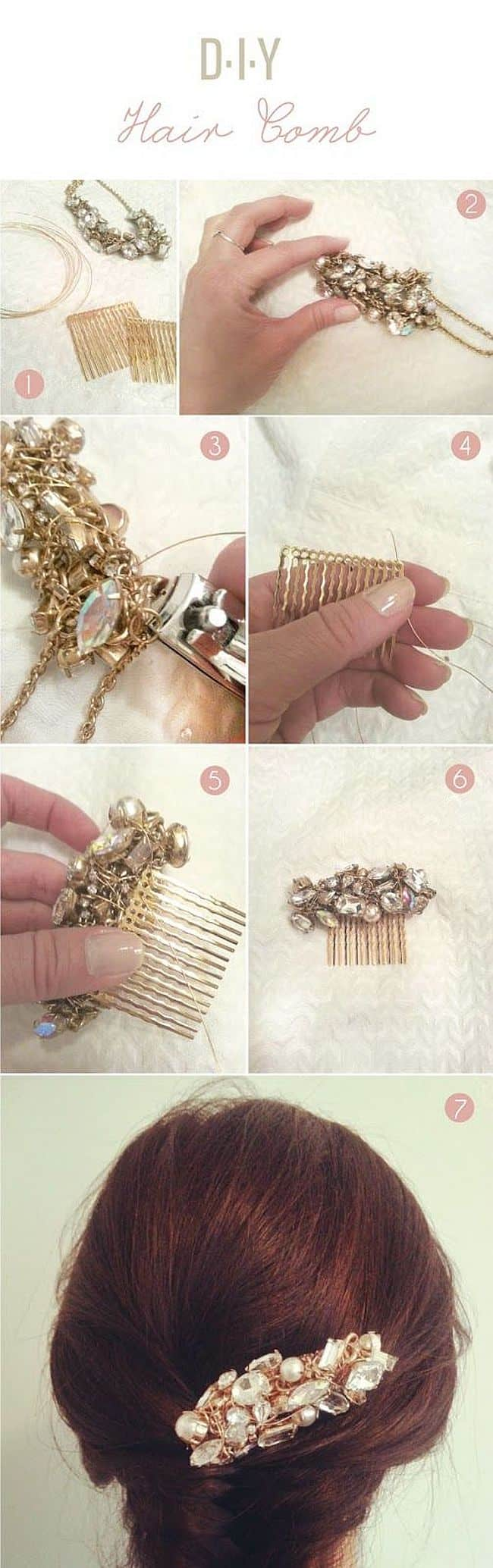 Necklace Comb