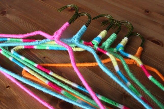 Neon non-slip hangers