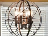 Orb Chandelier 200x150 Light Up The Room With These DIY Chandeliers