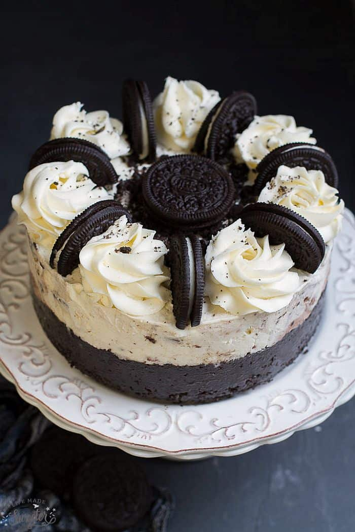 Oreo Ice Cream Cake From Scratch