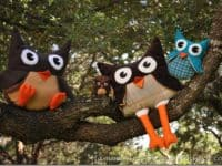 Owl stuffies 200x150 DIY Stuffed Toys That Make Great Gifts