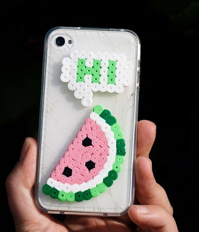 Perler Bead Phone Case