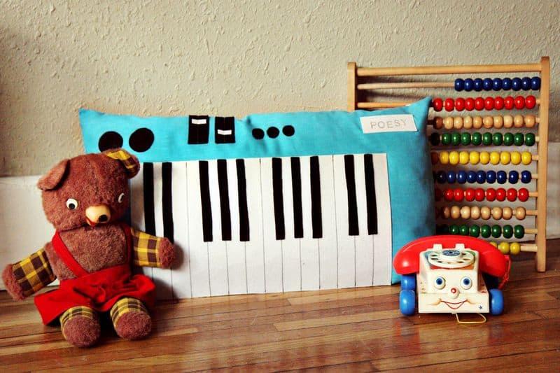 Plush piano