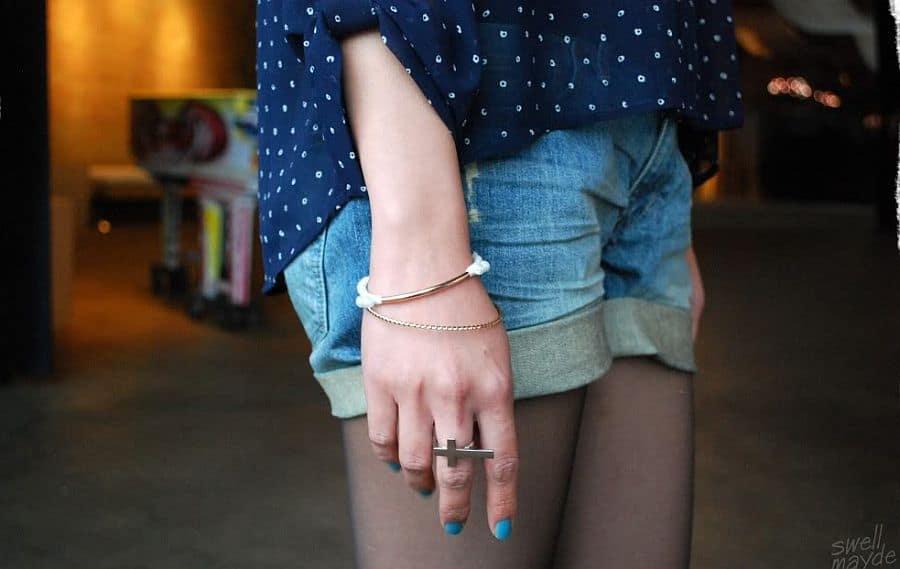 Rope & Copper Bracelet