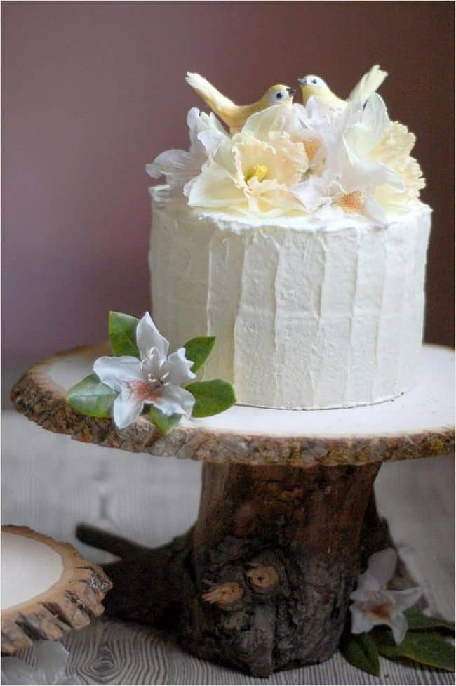 Rustic Cake Stand
