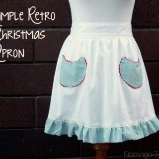 15 Cute DIY Apron Patterns for Keeping Clean in the Kitchen