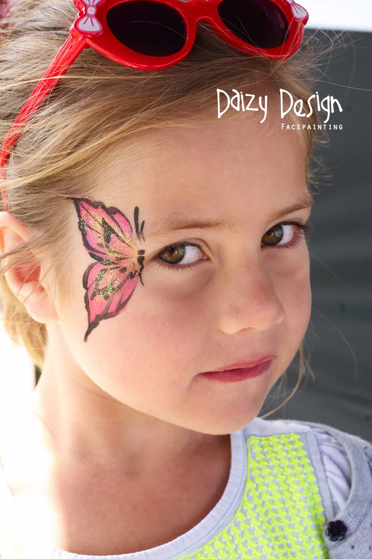Cute Face Painting Designs For Your Kids This Summer - Simple face painting