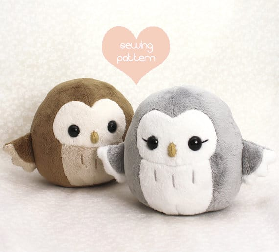 Soft kawaii owl