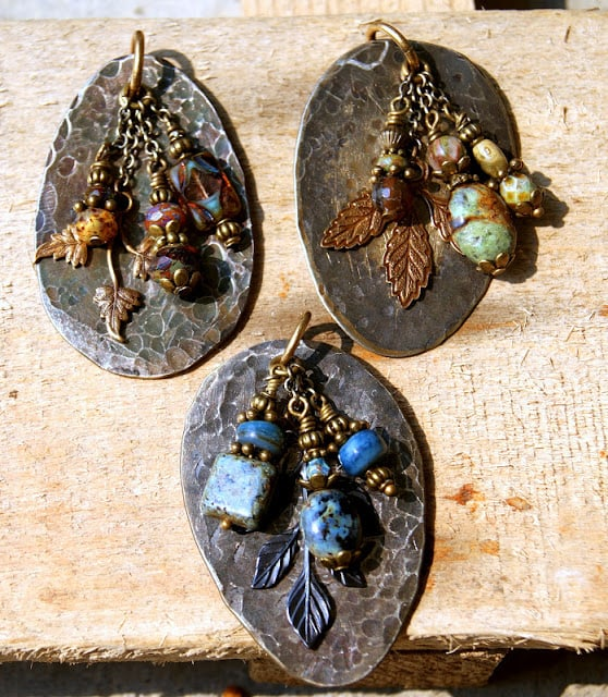 Spoon necklace pendants