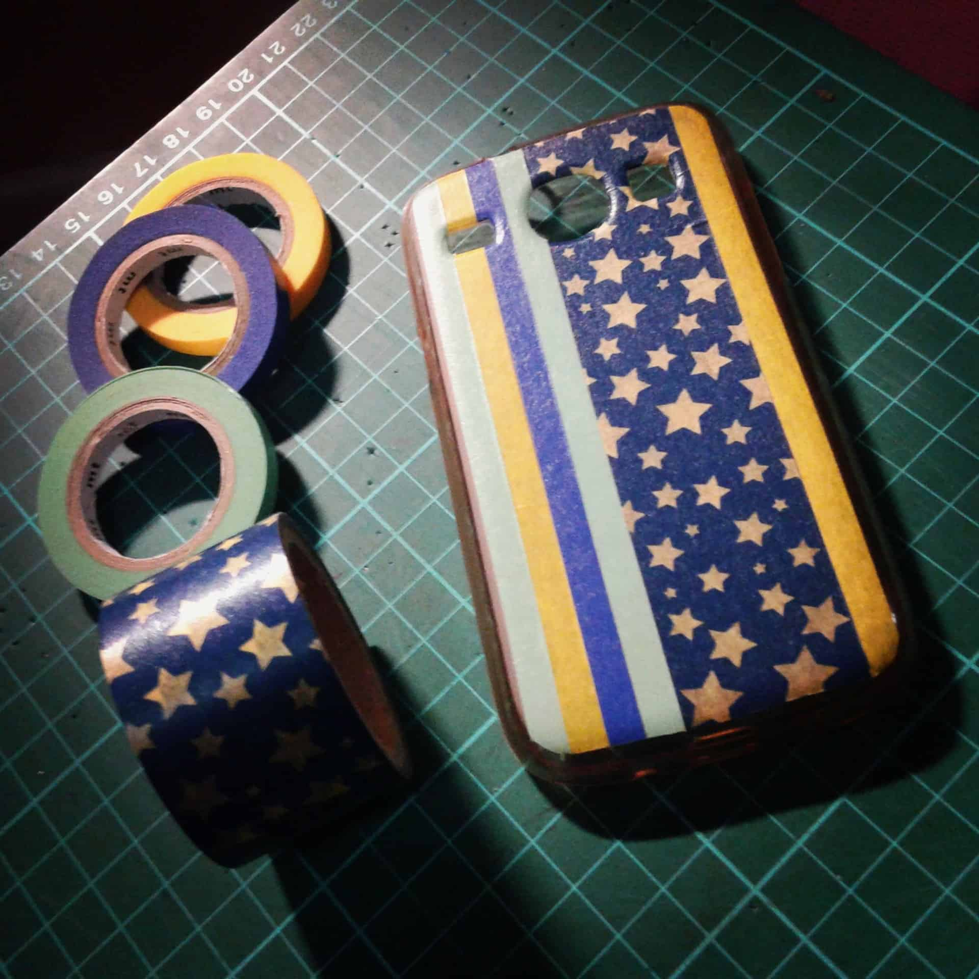 Stripes and stars phone