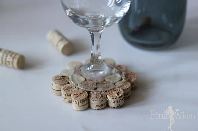 Stylish Coasters from Wine Corks
