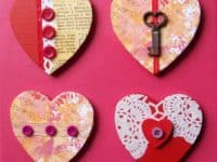 Vintage key Valentine 200x150 15 Unconventional DIY Projects Made With Old Keys
