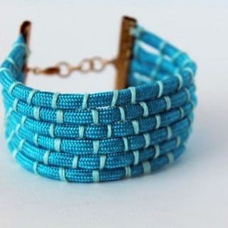 Accessories To Die For: DIY Rope Bracelets