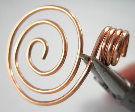 Zen spiral pendant