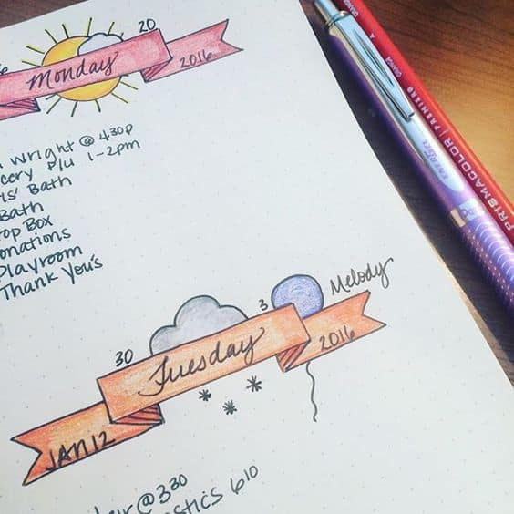 12 Layout Ideas You Ll Want To Steal For Your Bullet Journal