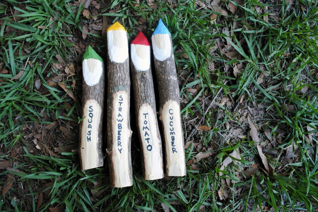 gnome twig markers