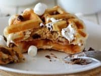 go ahead waffle your smores 200x150 10 Creative New Ways to Use Your Waffle Iron