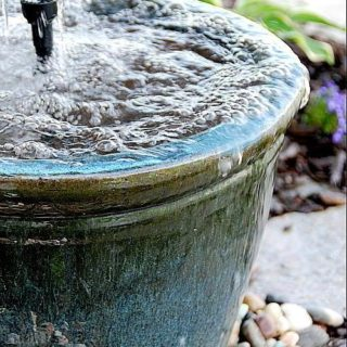 8 Soothing DIY Garden Fountains