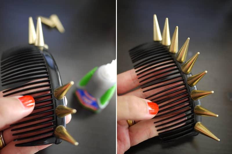 Spike comb