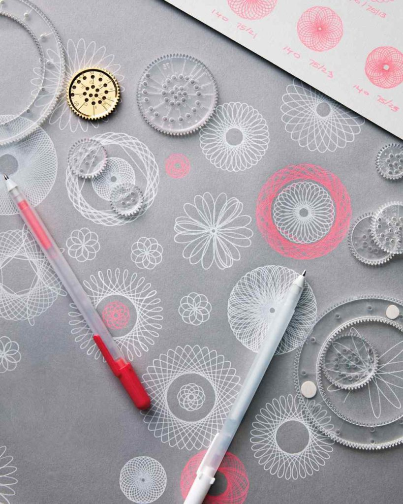 spriograph wrapping paper