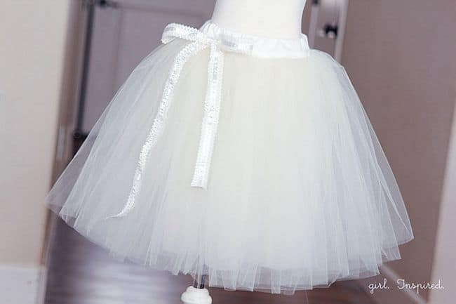 For little ballerinas diy tutu skirts view in gallery all white tutu solutioingenieria Images