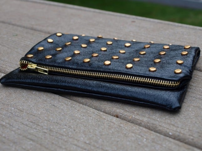 Brad %22studded%22 clutch purse