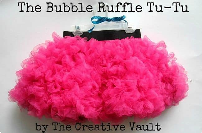 Bubble Ruffle Tutu