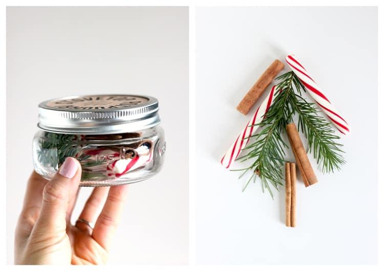 Cinnamon, pine, and peppermint potpourri
