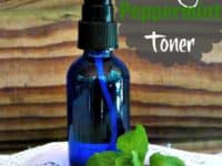 Cooling peppermint face toner 200x150 Our Favourite DIY Recipes Using Peppermint Essential Oils