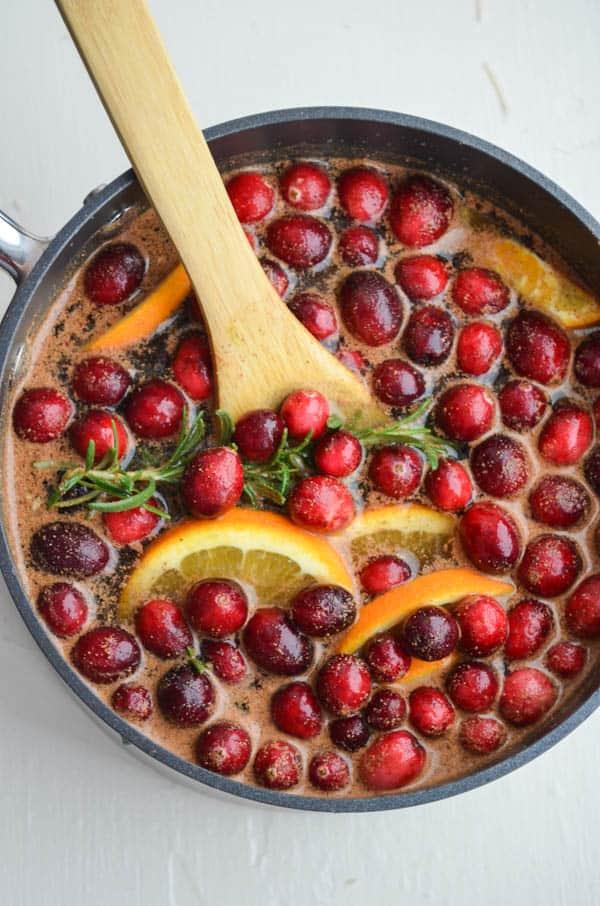 Cranberry splash potpourri