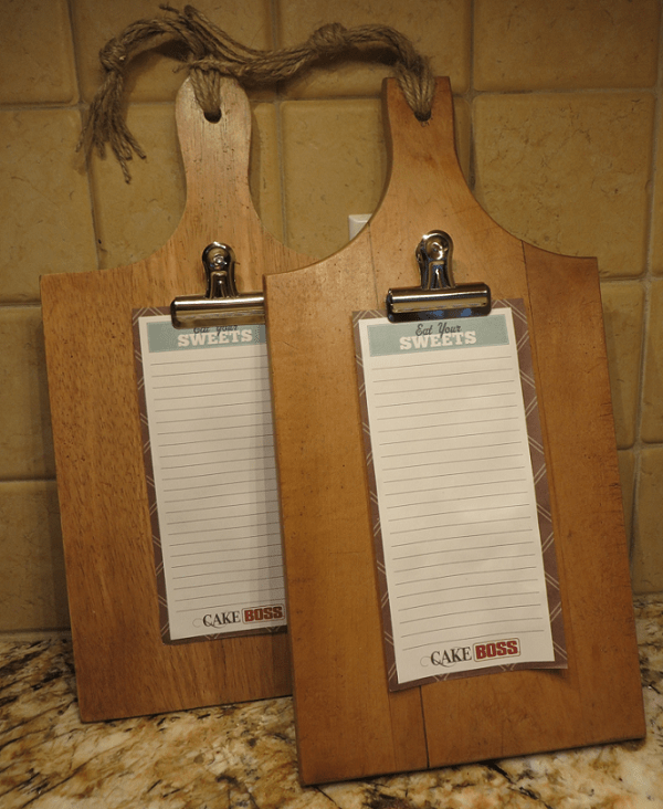 VIEW IN GALLERY Cutting Board Note Clips