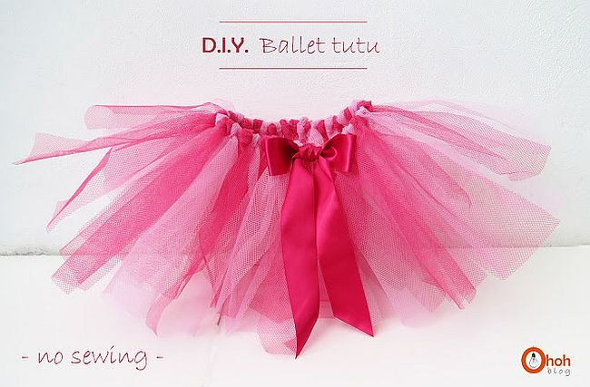 For Little Ballerinas Diy Tutu Skirts